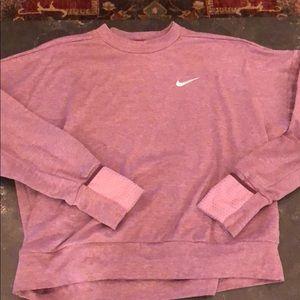 Nike women's running sweatshirt. Purple. Size M.
